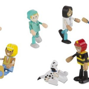 Wooden Flexible Figures-Careers