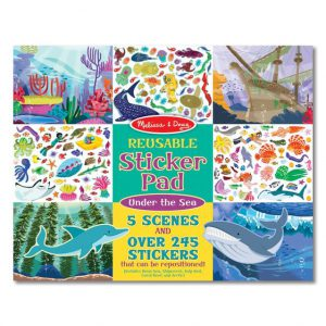 Reusable Sticker Pad – Under the Sea