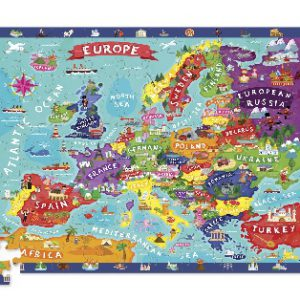 Europe Discover Puzzle