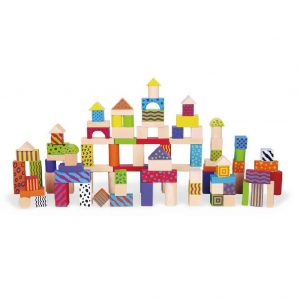 100PC Colourful Block Set