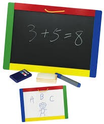Magnetic Chalk-Dry/Erase Board
