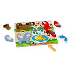 Chunky Jigsaw Puzzle – Pets