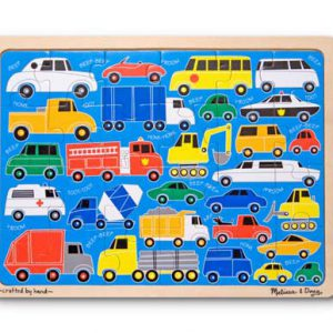 Beep Beep Wooden Jigsaw Puzzle (24 pc)