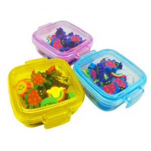 Erasers in a Tub Set of 3