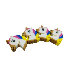 Unicorn Erasers Set of 4