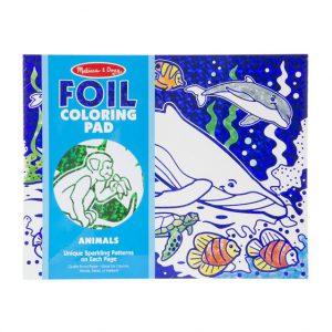 Foil Colouring Pad – Animals