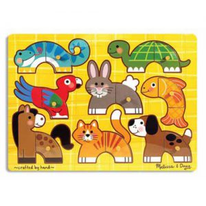 Pets Mix and Match Peg Puzzle
