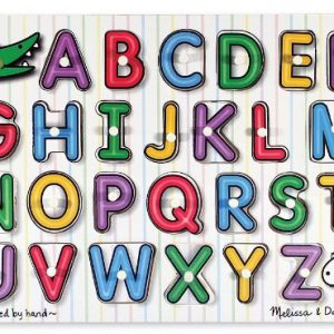 See Inside Alphabet Peg
