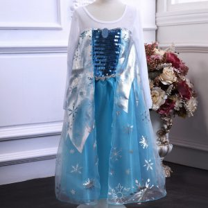 Frozen Princess Dress (Blue)