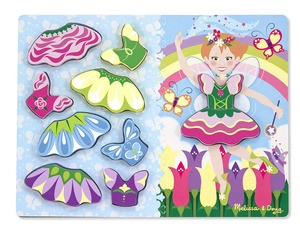 Fairy Dress-Up Chunky Puzzle