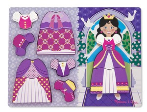 Princess Dress Up Chunky Puzzle