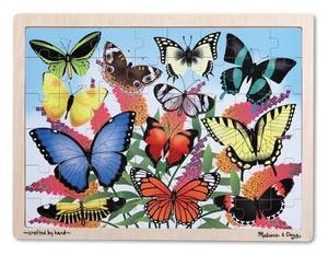 Butterfly Wooden Jigsaw Puzzle 48pc