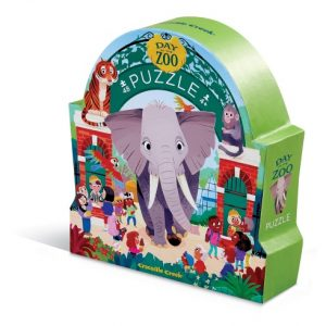48 PC Museum Shaped Zoo Puzzle