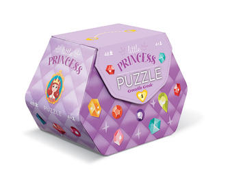 Little Princess 48 pc Double Fun Puzzle