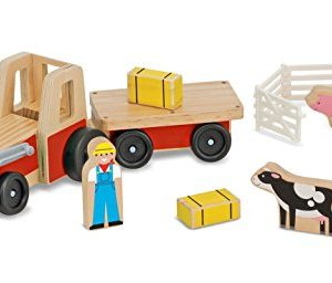 Wooden Farm and Tractor