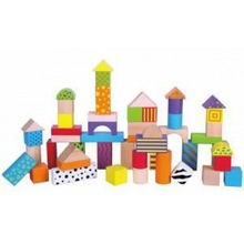 100pc Block Set Alphabet and Numbers