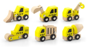 Construction Vehicles 6pcs Set