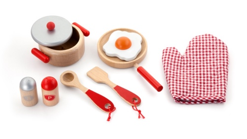 Cooking Tool Set – Red