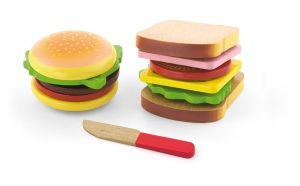 Playing Food – Hamburger & Sandwich