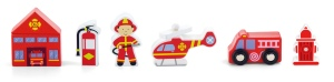 Train Set Accessory – Fire Station