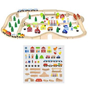 90 Pcs Train Set