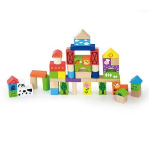 Block Set (50 pc) FARM