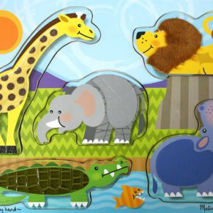 Zoo Touch and Feel Puzzle