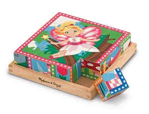 Princess & Fairy Cube Puzzle