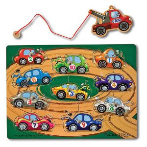 Magnetic Towing Puzzle Game