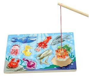 Magnetic Fishing Puzzle Game