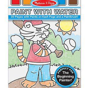 Paint With Water Blue