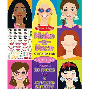 Make a Face Sticker Pad