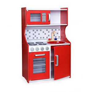 Viga Red Modern Kitchen