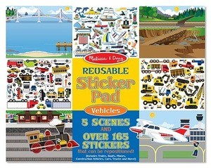 Vehicle Reusable Sticker Pad