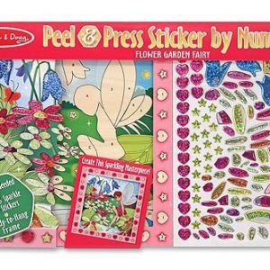 Peel and Press Sticker Flower Garden Fairy