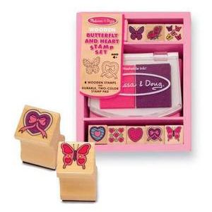 Butterfly and Hearts Set
