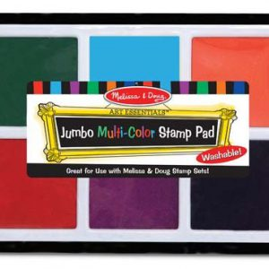 Jumbo Multi Colour Stamp Pad