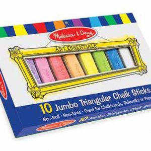 Jumbo Triangular Chalk Sticks (10)
