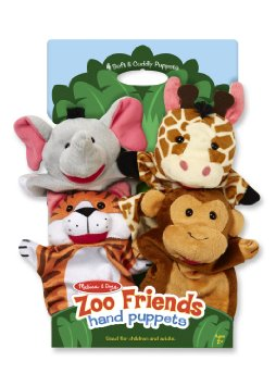 Zoo Friends Hand Puppet