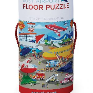 50 Pc Floor Puzzle Busy Airport