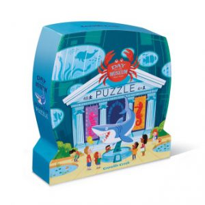 48 PC Museum Shaped Aquarium Puzzle