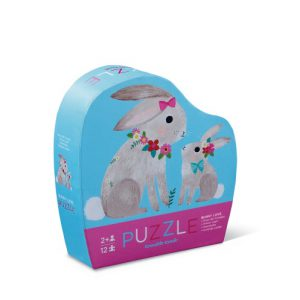 12 Pc Puzzle Bunny Love