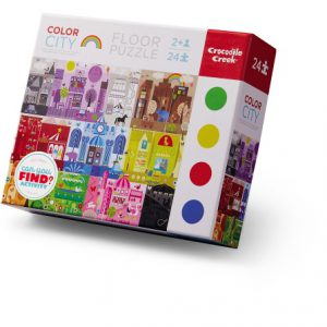 24 Pc Early Learning Colour City