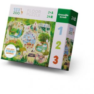 24 Pc Early Learning 123 Zoo