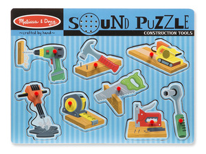 Construction Tool Sound Puzzle