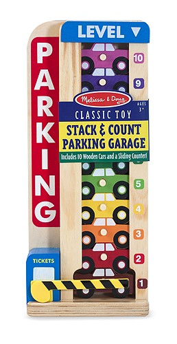 Counting Vehicles Parking Garage