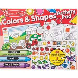 Colours and Shapes Activity Pad