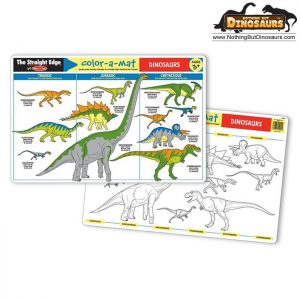 Dinosaur Colour a Mat