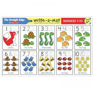 Numbers 1-10 Write a Mat