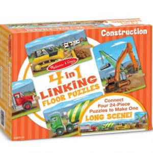 Construction Linking Floor Puzzle (96 pc)